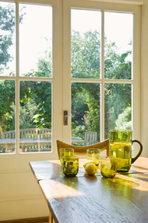 Enjoy a Sunny Nook with Casement Windows Regardless of the Weather