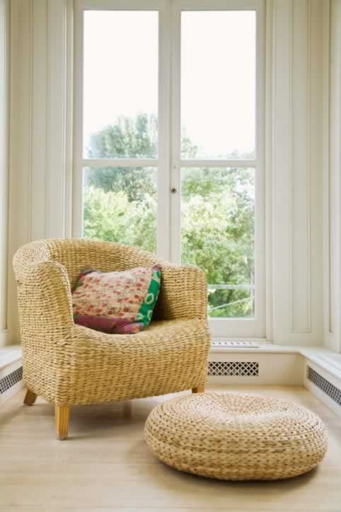 A Sunny Bay Window is a Comforting Retreat