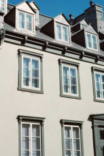 Monochromatic Exterior Windows Hides an Element of Surprise