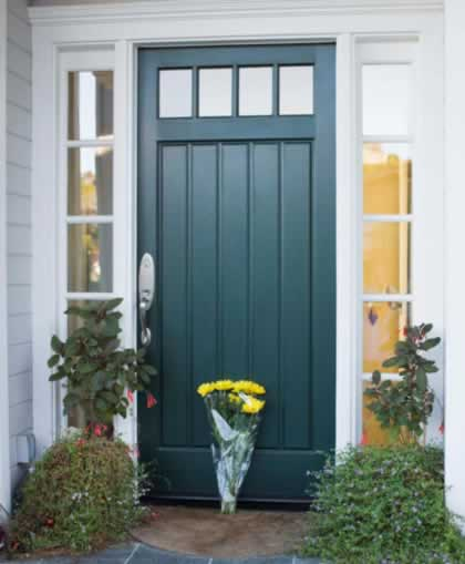 Benchmark doors 6 panel and fan lite doors by benchmark - Steel vs fiberglass exterior door ...