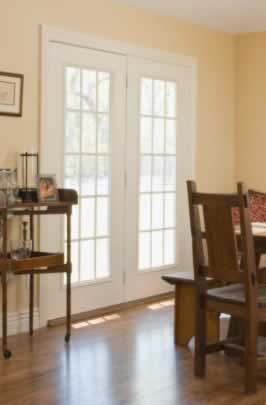 Graceful, Elegant French Doors