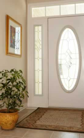 Oval Glass Reproduction Doors Are Instant Classics