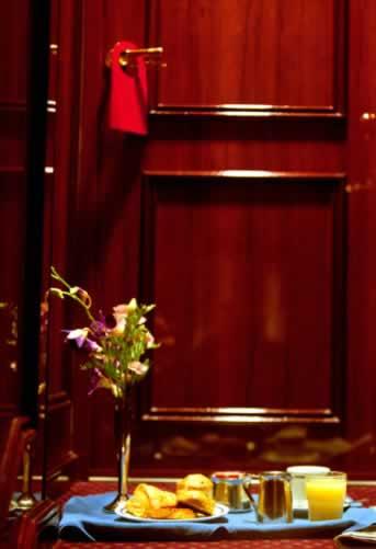 Old World Charm: Mahogany Doors