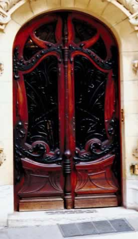 Mahogany Doors Preserved by Loving Care