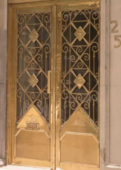 Metal Antique Doors Renew The Golden Age