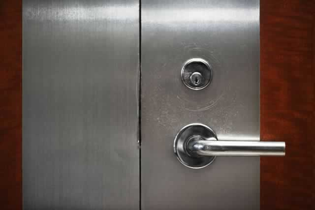Metal Doors Provide Security and Low Maintenance