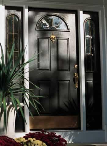 Oak Doors: Formal Strength and Contrast