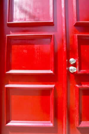 Sturdy, Secure Panel Doors with Panache