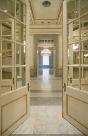 Pocket Doors for Victorian or Neoclassical Elegance