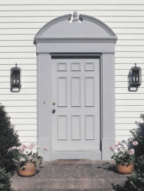 Vinyl Doors with Period Charm and Durability