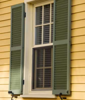 Vinyl windows and shutters never looked so good door and window - Types shutters consider windows ...