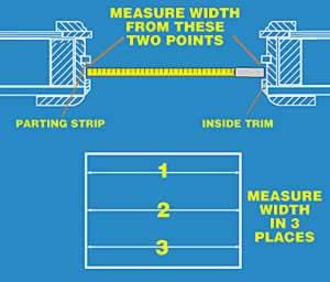 How To Measure Your Windows Door And Window