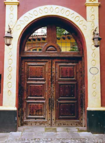 Wooden Doors with European Elegance