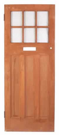 Choose a Narrow Exterior Door with Glass