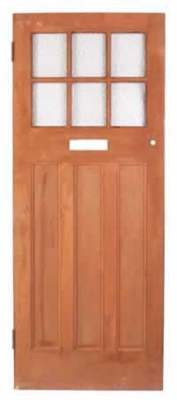 Choose a Narrow Exterior Door with Glass