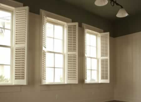 Wood windows and shutters offer unique possibilities door and window - Types shutters consider windows ...