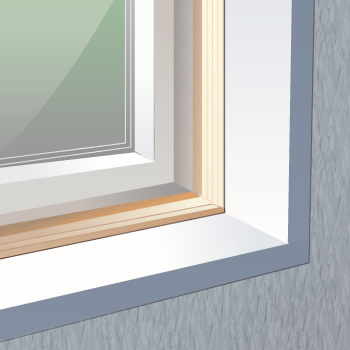 i Vinyl windows require wood extension jambs to fit & Vinyl Windows Use Wood Extension Jambs For Good Fit