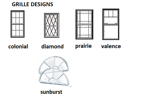 External window grilles
