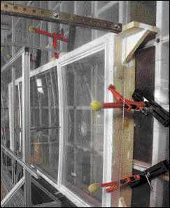 AAMA testing for window strength