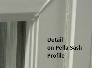 Replacement window comparison chart for pella pro star and for Pella replacement windows