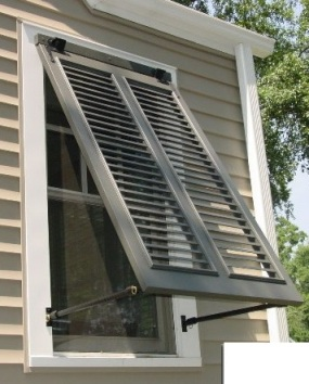Bahama Shutters: Keep Out Weather, Let in Air and Light