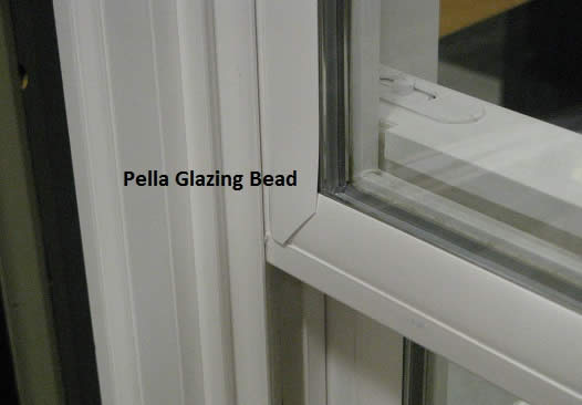 Pella Glazing Bead on Larson Storm Door Repair Parts