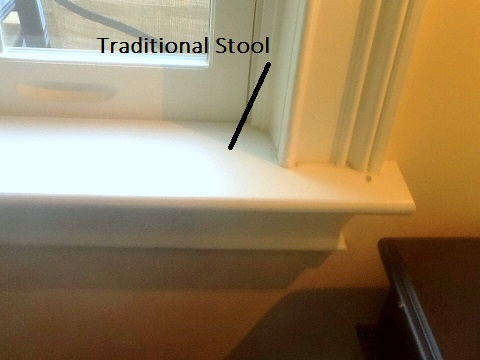 Traditional Window Stool