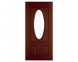3-Panel Oval Entry Door