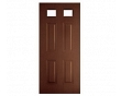 Twin 8x6 Colonial Light Entry Door