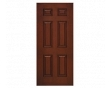 6-Panel Solid Entry Door