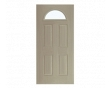 Fan Light Steel Entry Door