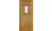 8 Panel Door Center Lite