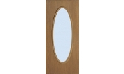 Flush Door Full Oval