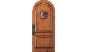 Custom Fiberglass Old World Entrance Door