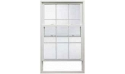 Flat Casing Vinyl Double Hung Windows